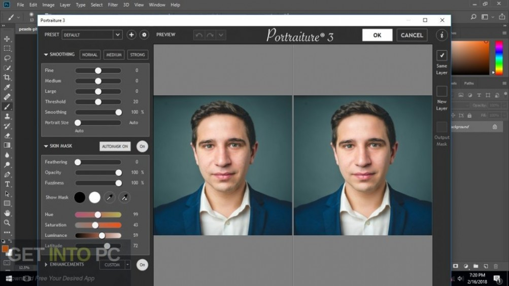 Imagenomic Portraiture Video Plugin for Adobe Premiere Latest Version Download-GetintoPC.com