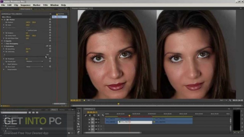 Imagenomic Portraiture Video Plugin for Adobe Premiere Offline Installer Download-GetintoPC.com