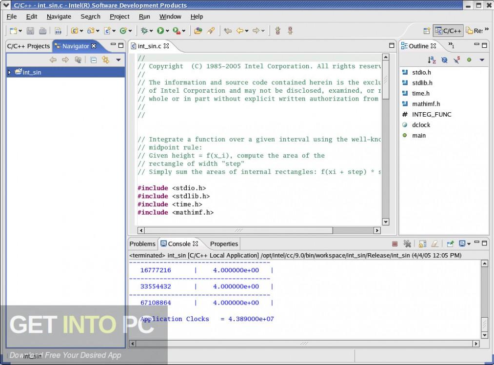 Intel C++ Compiler Direct Link Download-GetintoPC.com
