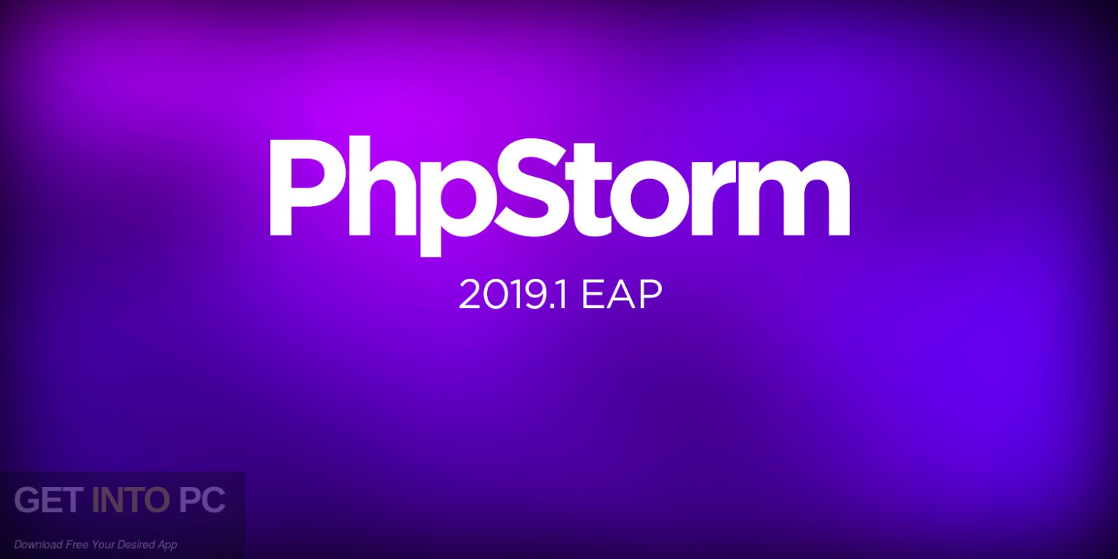JetBrains PhpStorm 2019 Free Download-GetintoPC.com