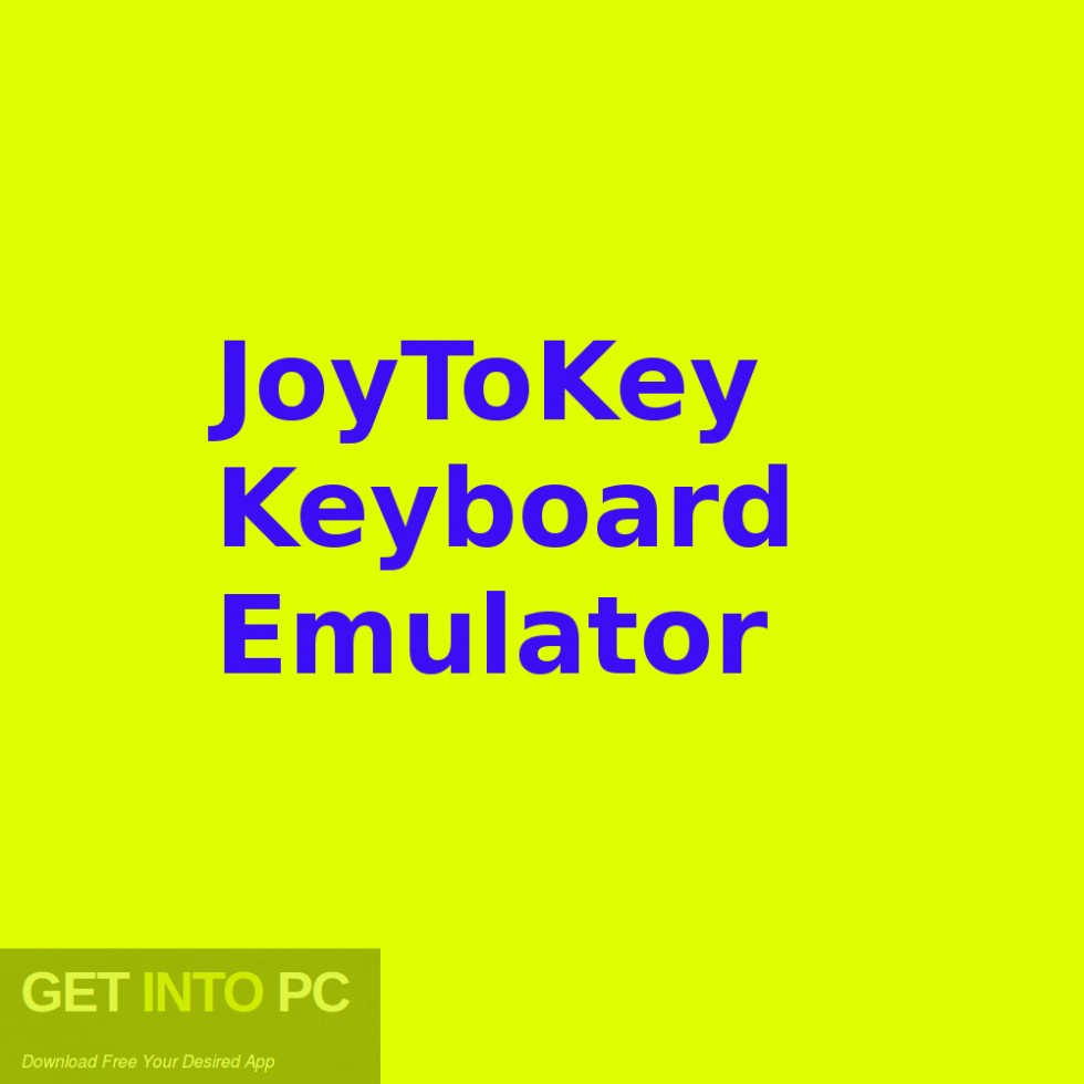 JoyToKey Keyboard Emulator Free Download-GetintoPC.com
