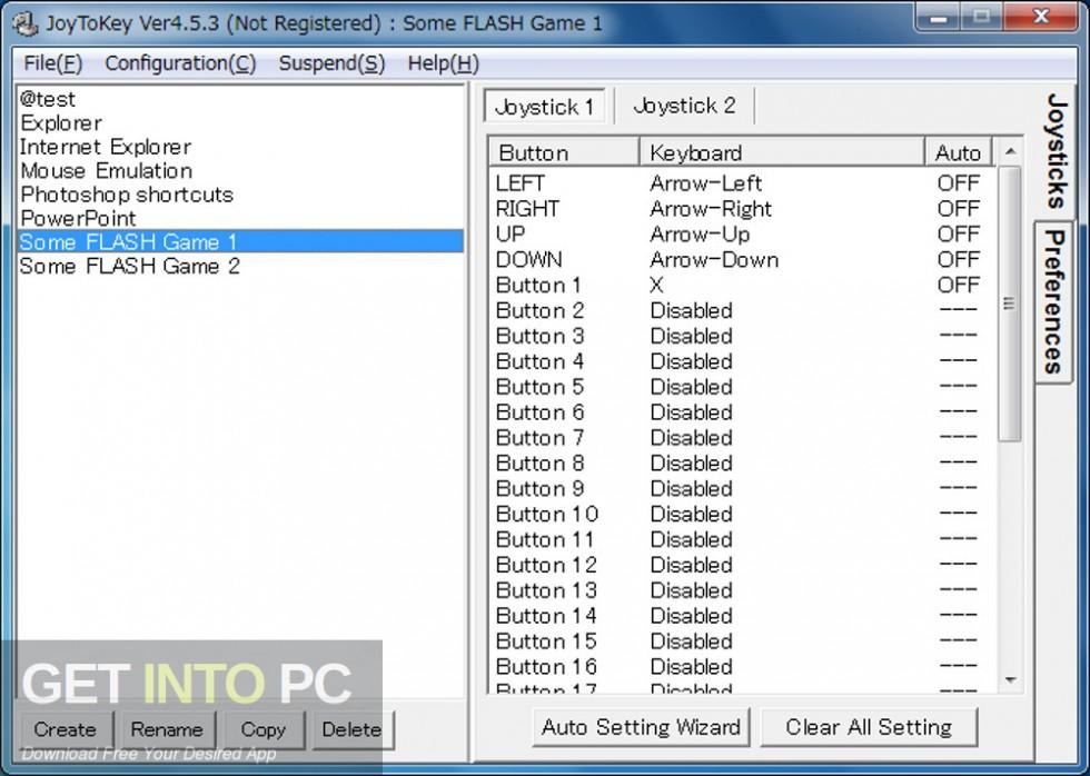 JoyToKey Keyboard Emulator Latest Version Download-GetintoPC.com