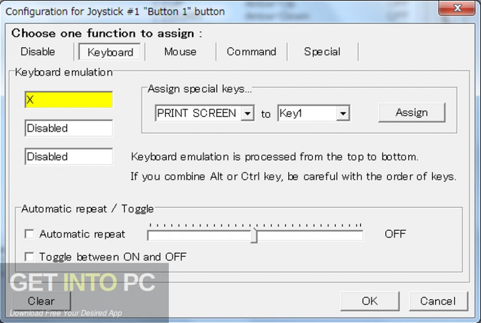 JoyToKey Keyboard Emulator Offline Installer Download-GetintoPC.com