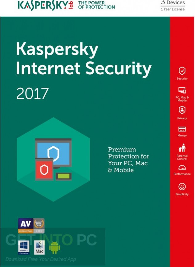 Kaspersky Internet Security 2017 Free Download