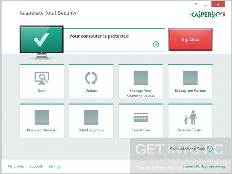 Kaspersky Total Security 2017 Latest Version Download