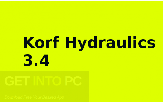 Korf Hydraulics 3.4 Free Download
