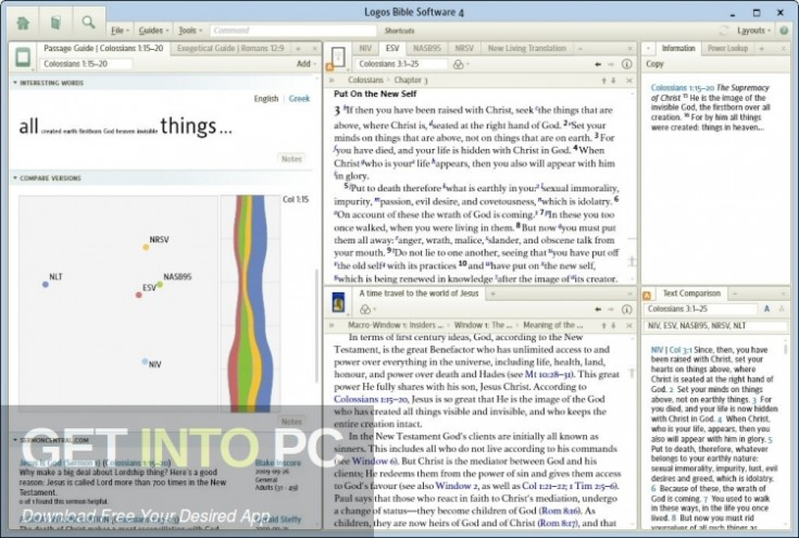 Logos Bible Software 4 Platinum Latest Version Download-GetintoPC.com
