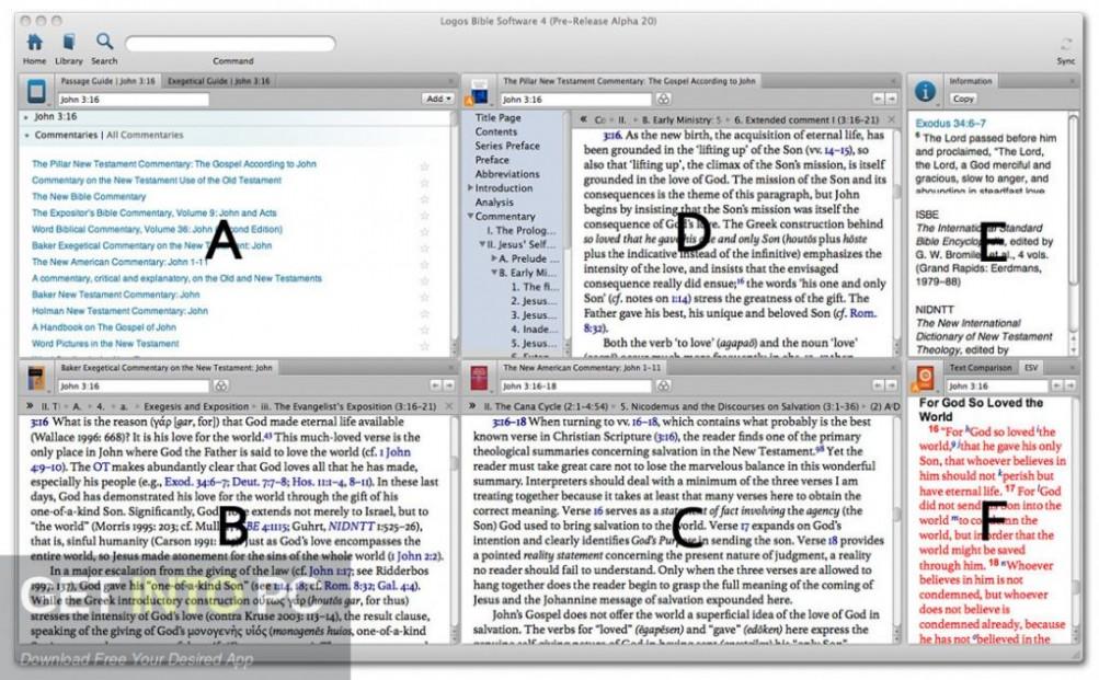 Logos Bible Software 4 Platinum Offline Installer Download-GetintoPC.com
