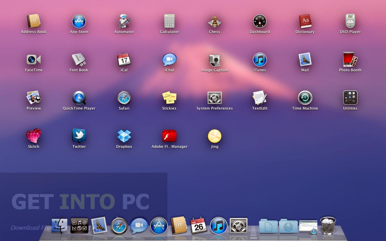 Mac OSX Lion 10.7.2 DMG Official Clean Release