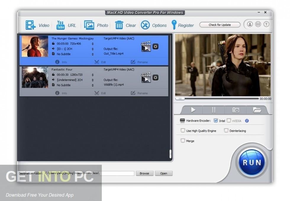 MacX HD Video Converter Pro DIrect Link Download-GetintoPC.com