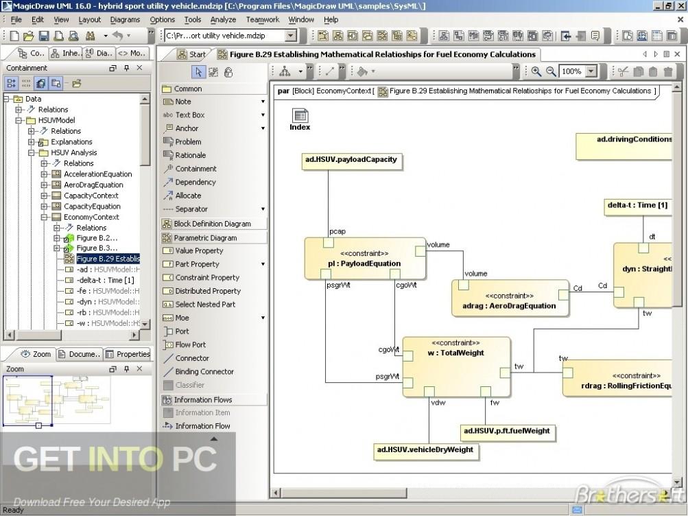 MagicDraw UML Enterprise Direct Link Download-GetintoPC.com