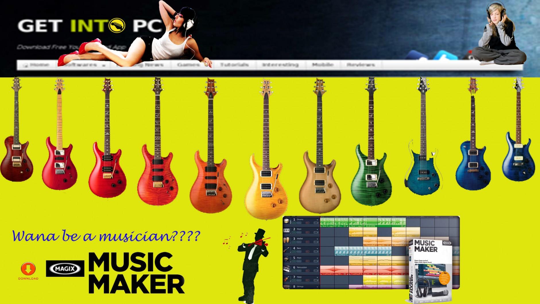 Magix Music Maker 2014 Premium setup