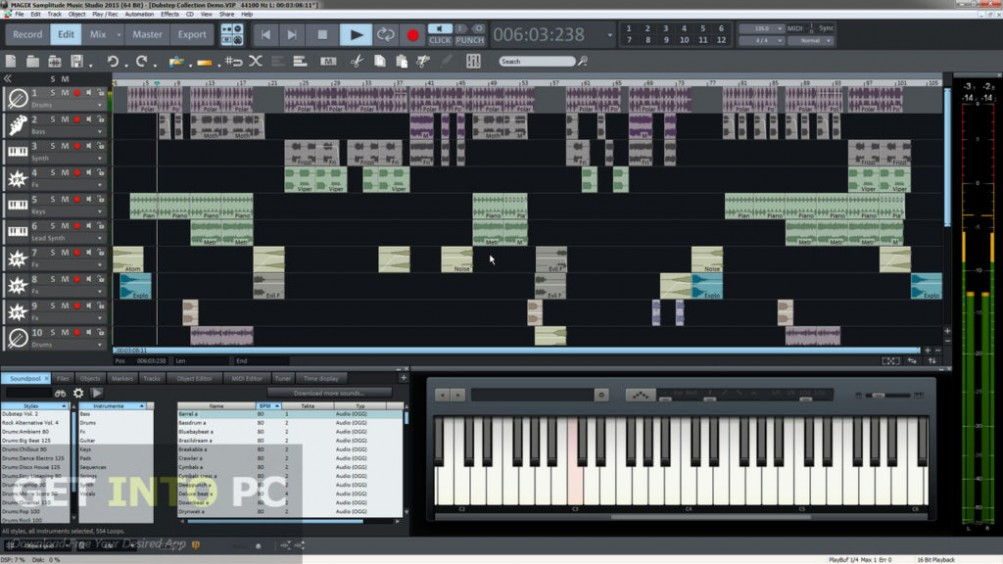 MAGIX Music Maker 2015 Premium ISO Download For Free
