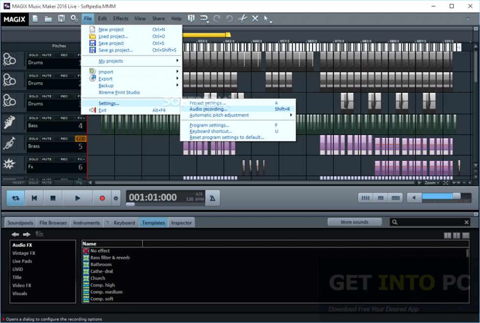 MAGIX Music Maker 2016 Premium Offline Installer Download