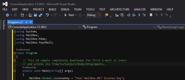 MailBee.NET Objects Offline Installer Download