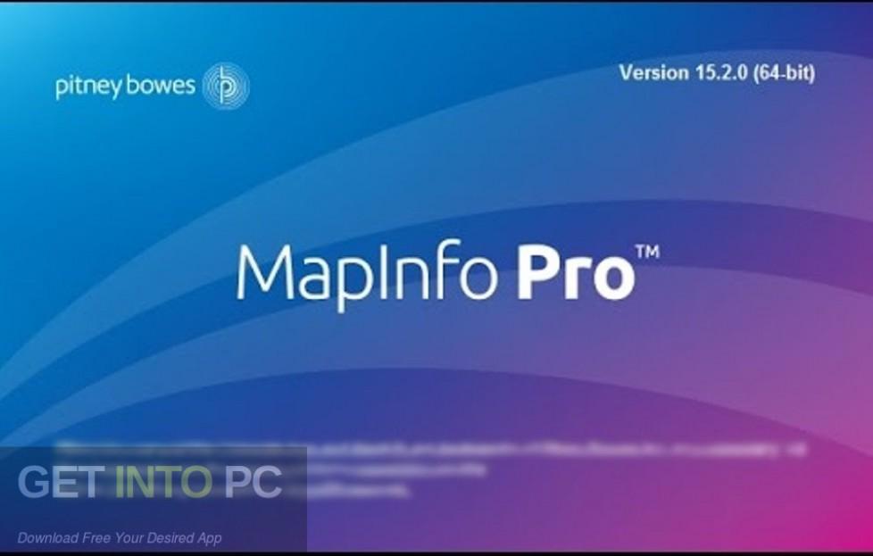 Mapinfo Discover Encom 2013 Free Download-GetintoPC.com
