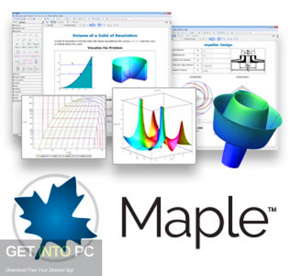 Maplesoft Maple 2019 Free Download-GetintoPC.com