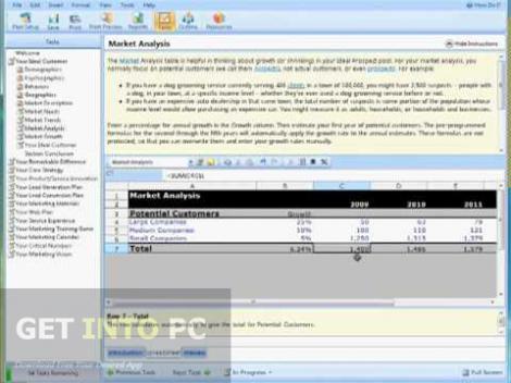 Marketing Plan Pro Free Download