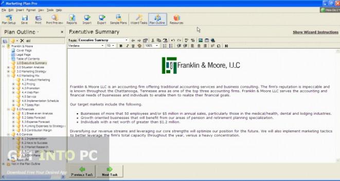 Marketing Plan Pro Offline Installer Download