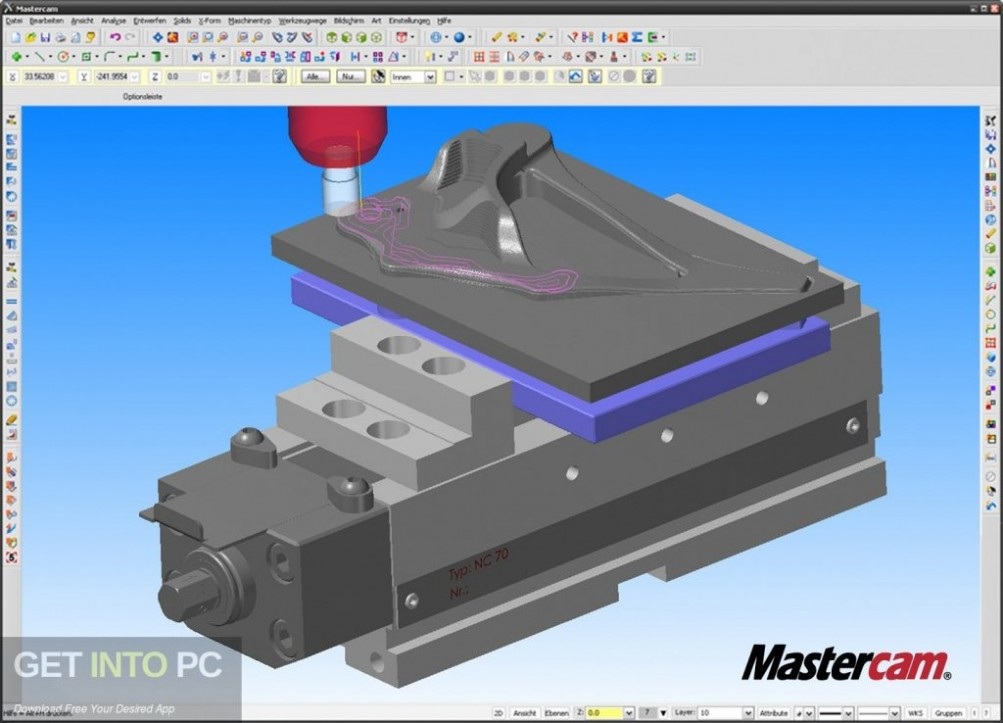 MasterCAM X6 Latest Version Download-GetintoPC.com