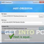MD5 Checksum Free Download