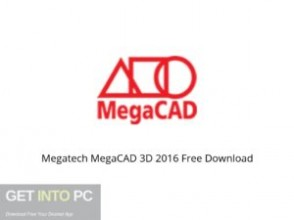 Megatech MegaCAD 3D 2016 Offline Installer Download-GetintoPC.com