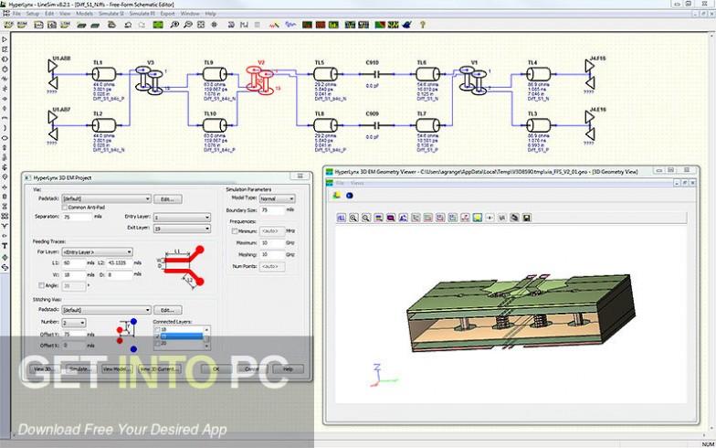 Mentor Graphics HyperLynx Latest Version Download-GetintoPC.com