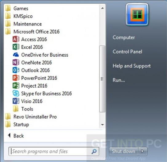Microsoft Office 2016 ProPlus With Mar 2017 Offline Installer Download