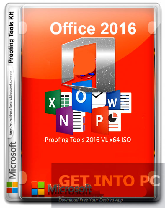 Microsoft Office Proofing Tools 2016 VL x64 ISO Download