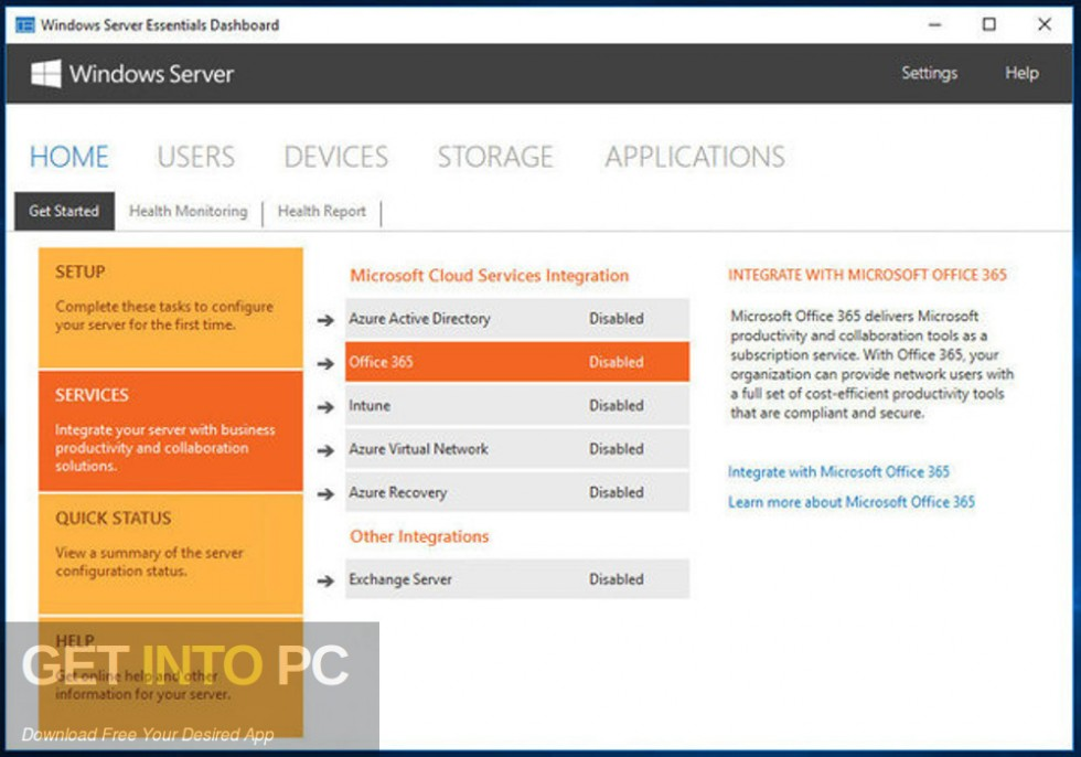 Microsoft Windows Server Essential 2016 Latest Version Download-GetintoPC.com