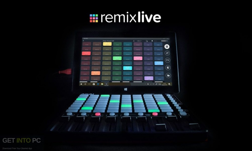 Mixvibes Remixlive Free Download-GetintoPC.com