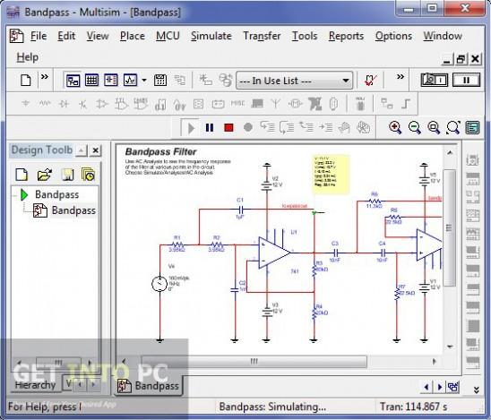 MultiSim 11 Ultiboard PowerPro Free Download