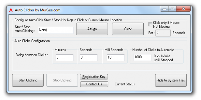 MurGee Auto Clicker Latest Version Download