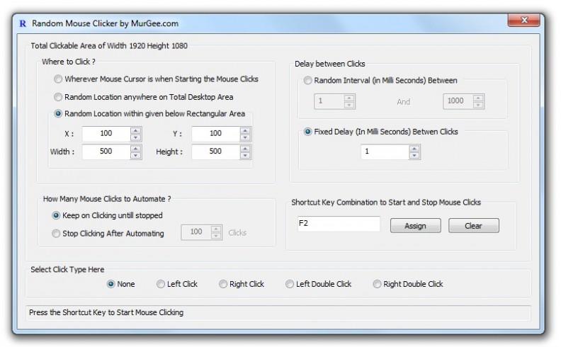 MurGee Auto Clicker Offline Installer Download