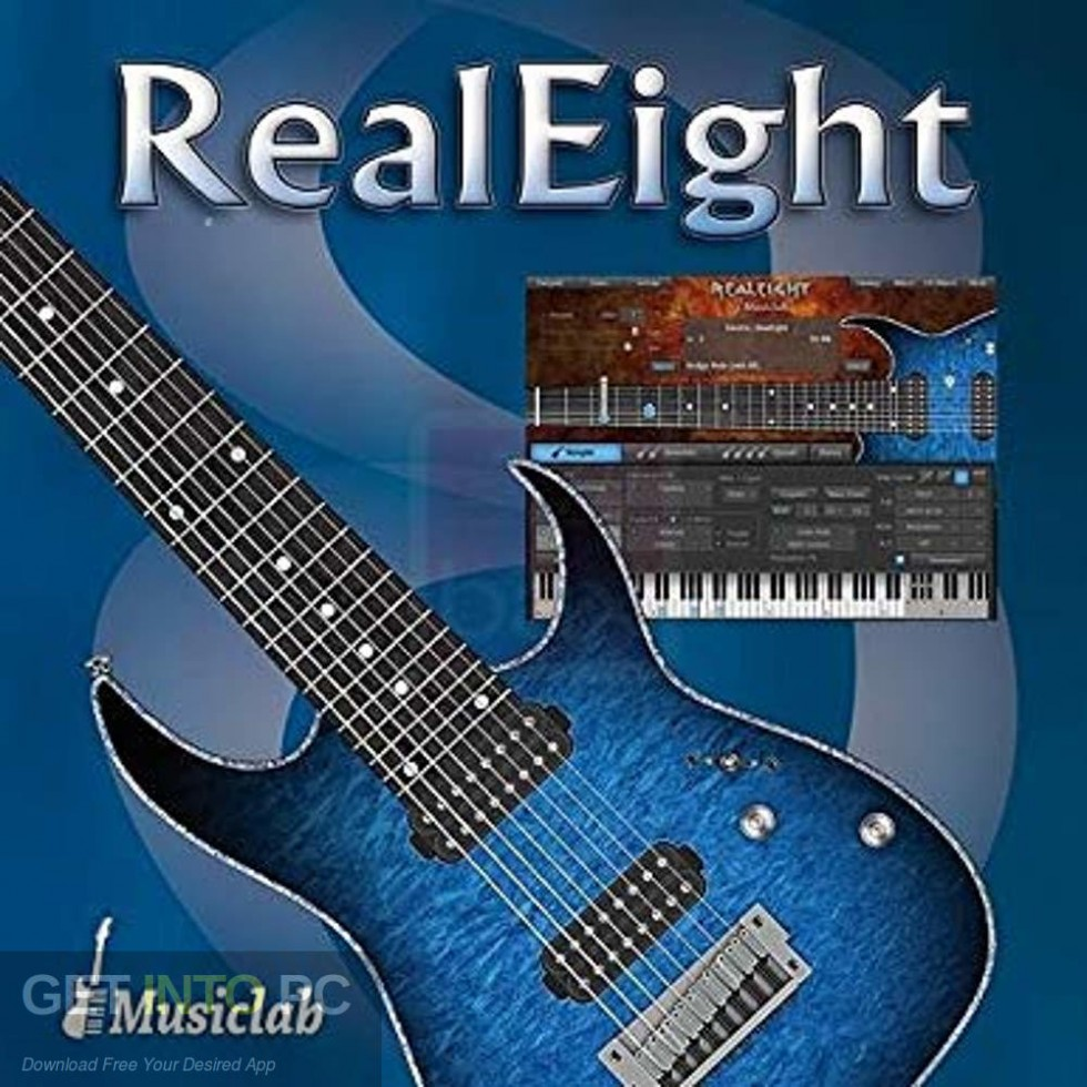 MusicLab RealEight for Windows Free Download-GetintoPC.com