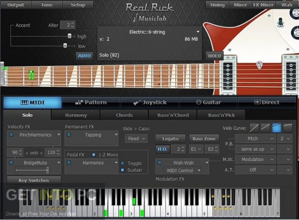 MusicLab RealEight for Windows Offline Installer Download-GetintoPC.com