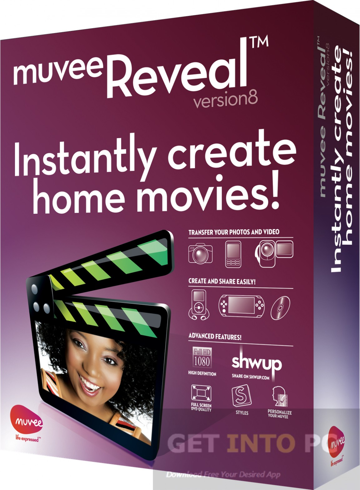 Muvee Reveal Free Download