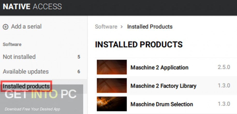 Native Instruments - THE FACTORY LIBRARY Maschine 2 Direct Link Download-GetintoPC.com