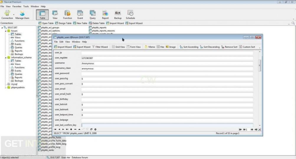 Navicat Premium 12.0.19 Latest Version Download