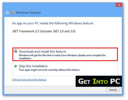 Microsoft .NET Framework 3.5  Download Free
