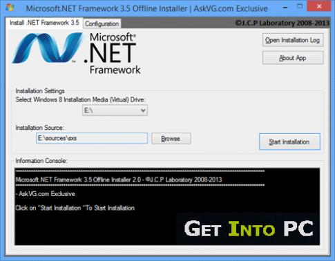 Microsoft .NET Framework 3.5 Features