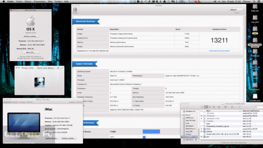 Niresh Mac OSX Mountain Lion 10.8.5 Offline Installer Download