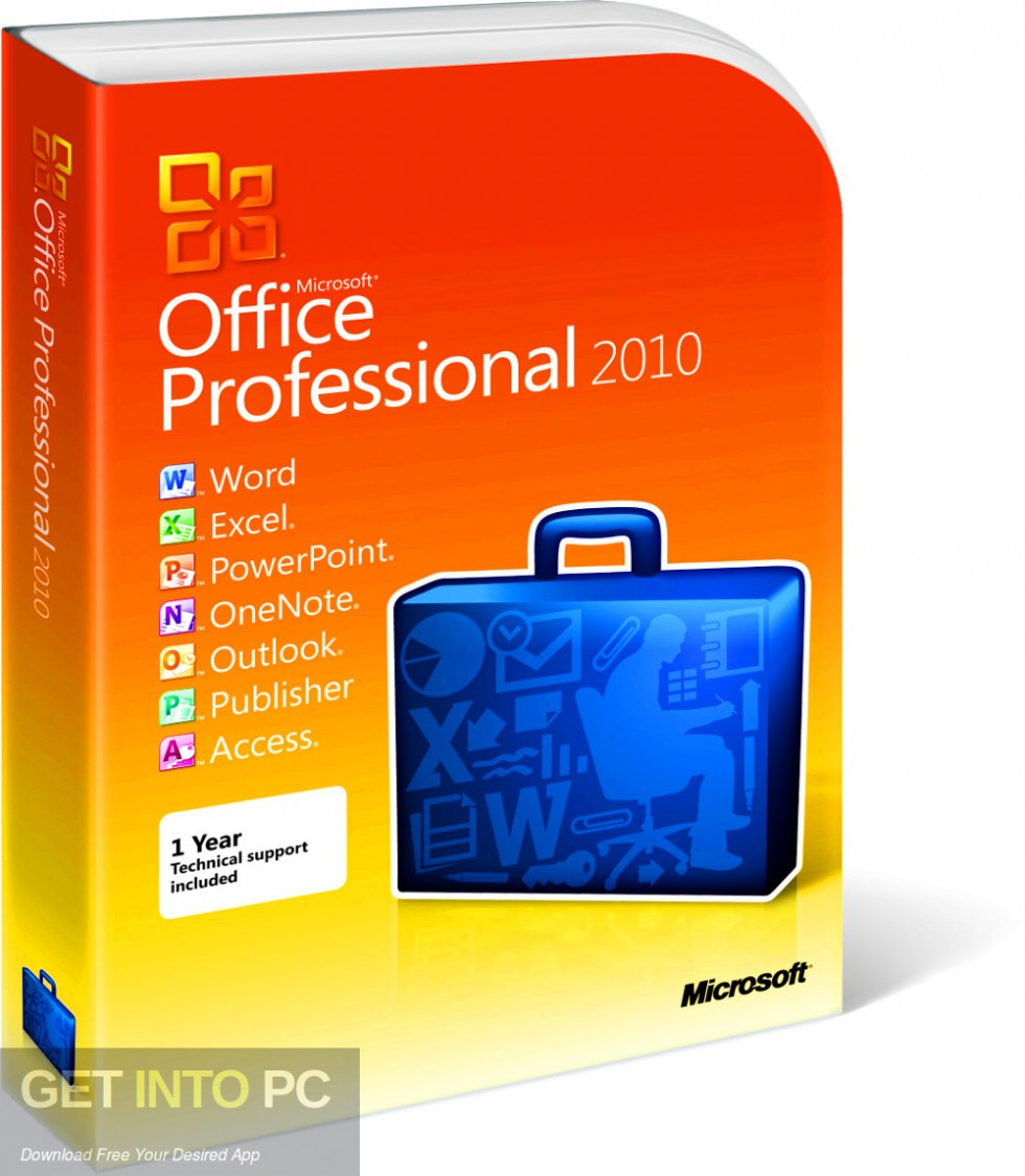 Office 2010 Professional Plus SP2 Updated July 2019 Free Download-GetintoPC.com