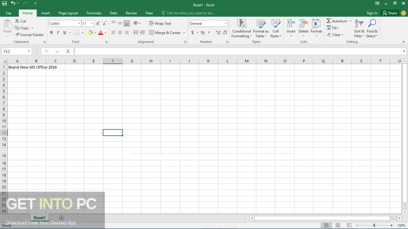 Office 2016 Professional Plus Updated Aug 2019 Direct Link Download-GetintoPC.com
