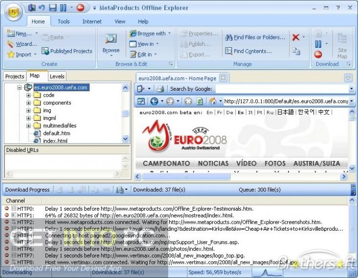 Offline Explorer Enterprise Direct Link Download-GetintoPC.com