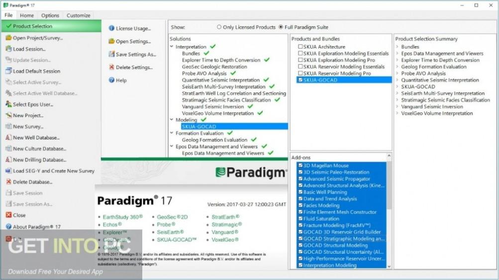 Paradigm Suite Geolog 2017 Direct Link Download-GetintoPC.com