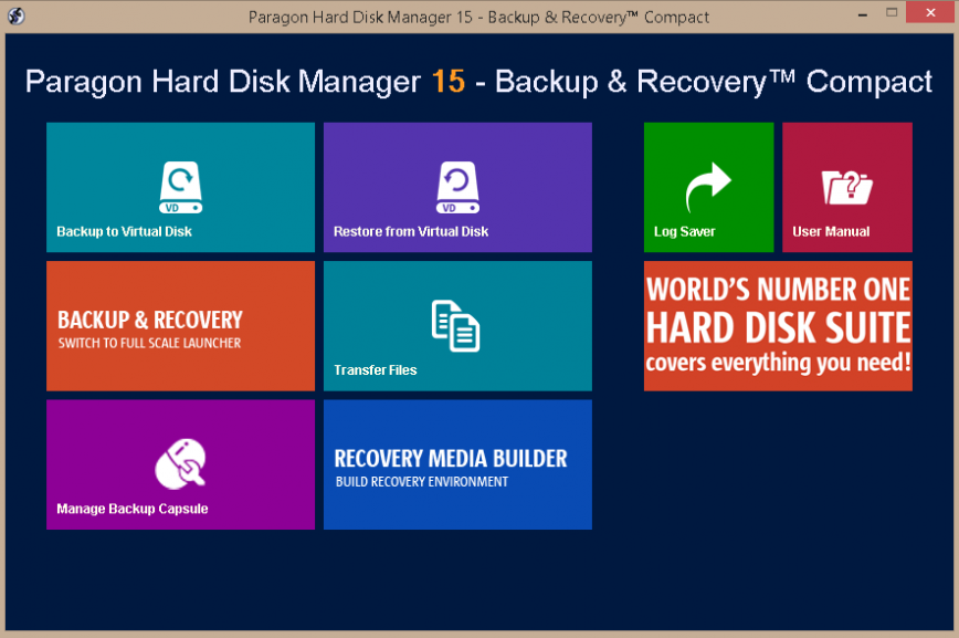 Paragon Hard Disk Manager 15 Suite Business Direct Link Download