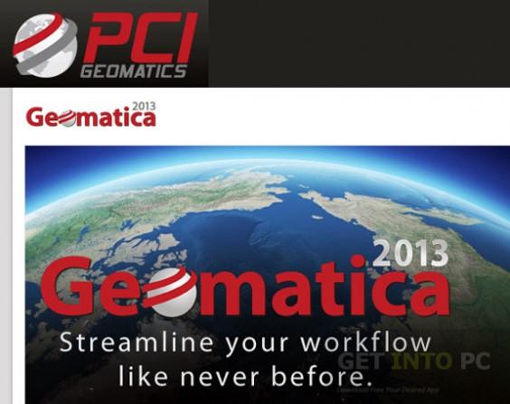 PCI Geomatica 2013 Free Download
