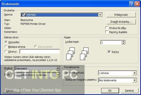 Pdf995 Printer Driver Latest Version Download-GetintoPC.com