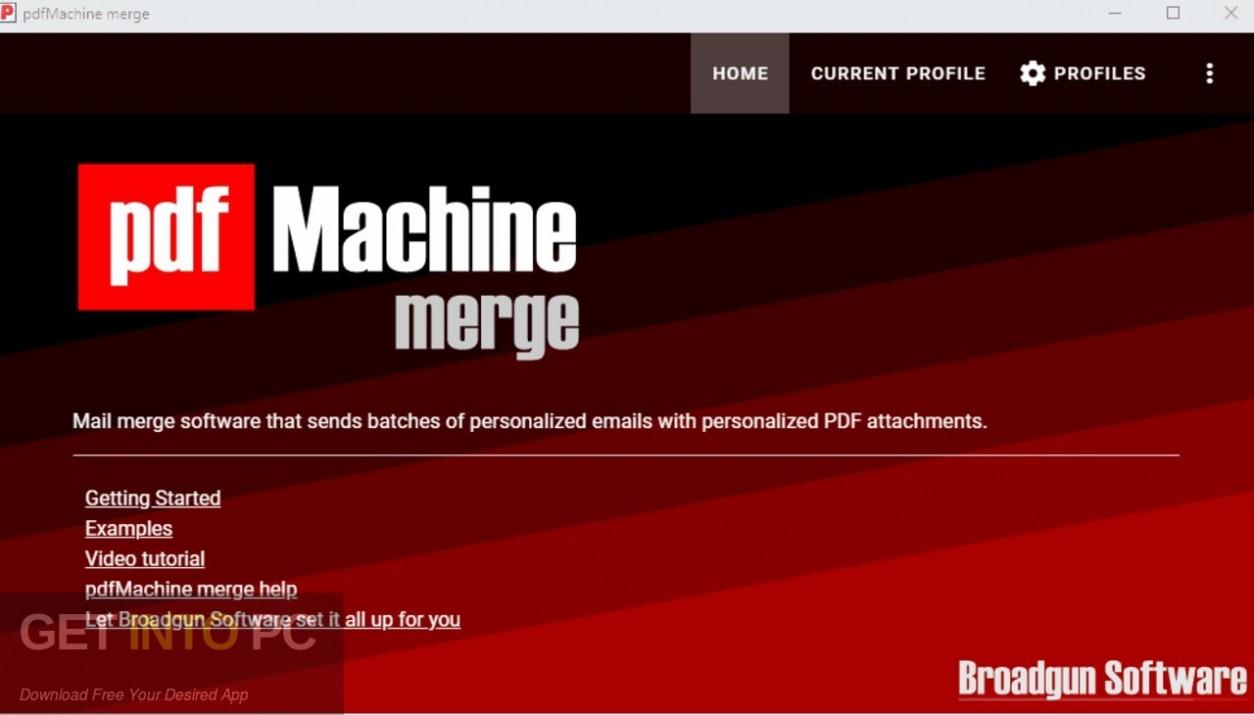 PdfMachine merge Free Download